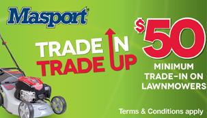 Masport's BIG Trade In Trade Up!