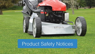 Product Safety Notices