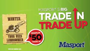 Masport's Trade In Trade Up!